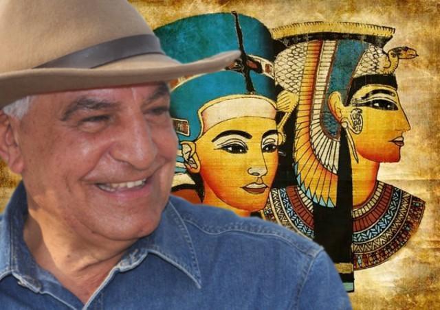 Zahi Hawass a Palermo: ''Ho trovato la tomba di Cleopatra''