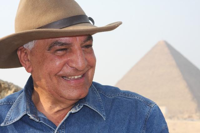 Il celebre archeologo Zahi Hawass a Palermo per illustrare le recenti scoperte dell'antico Egitto