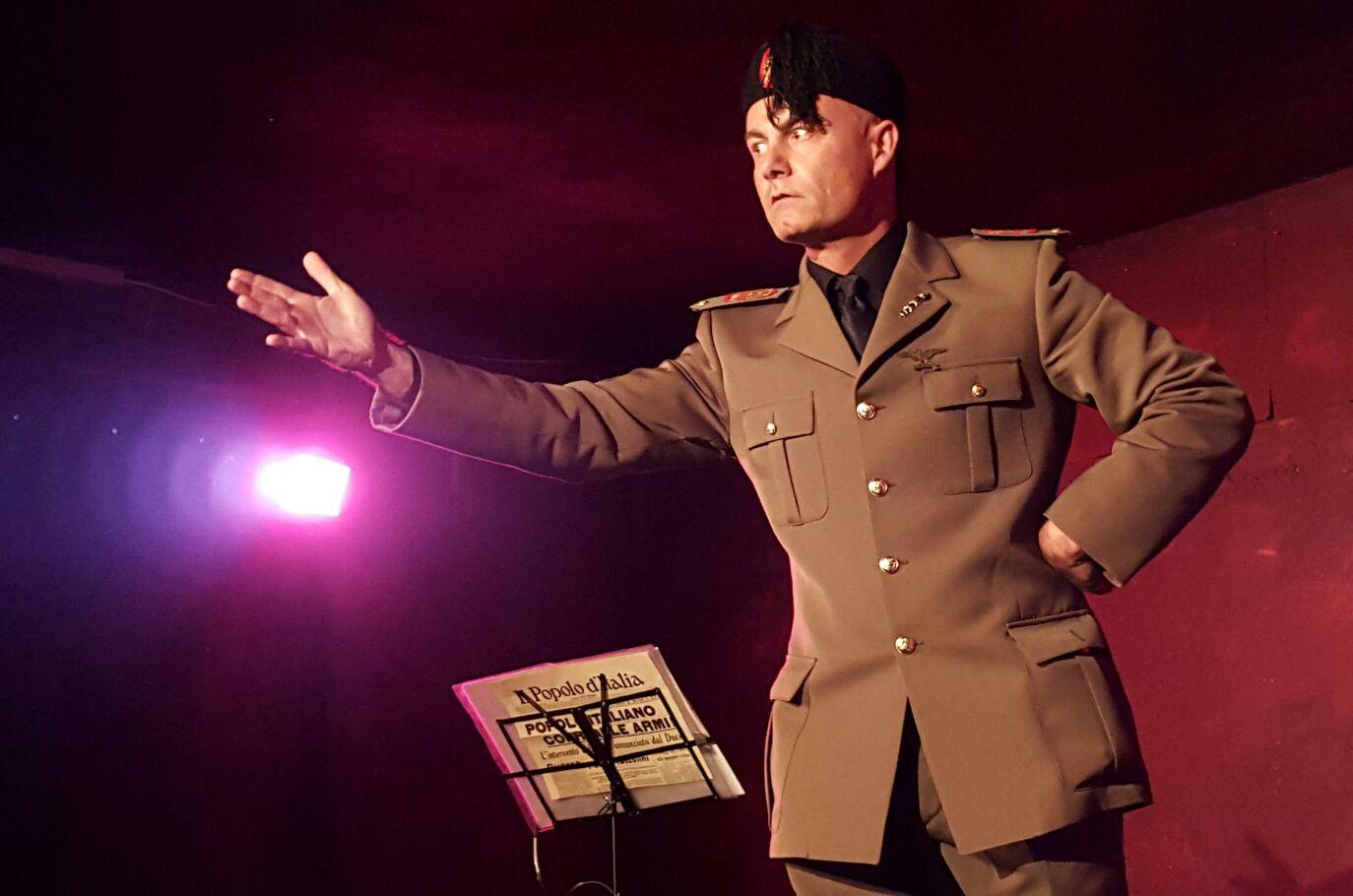Tom Corradini in 'Gran Consiglio - Mussolini'