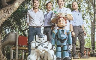I due fratelli catanesi che realizzano i robot amici dei bambini autistici