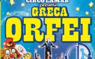 L'uomo proiettile e la donna laser al Circo Greca Orfei