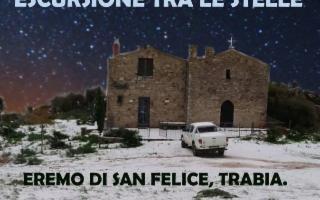 Escursione tra le stelle all'Eremo di San Felice