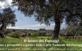 Ad Agrigento si parla del ''Futuro dei Paesaggi''