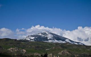 Sopra i Monti di Palazzo Adriano e della Valle del Sosio