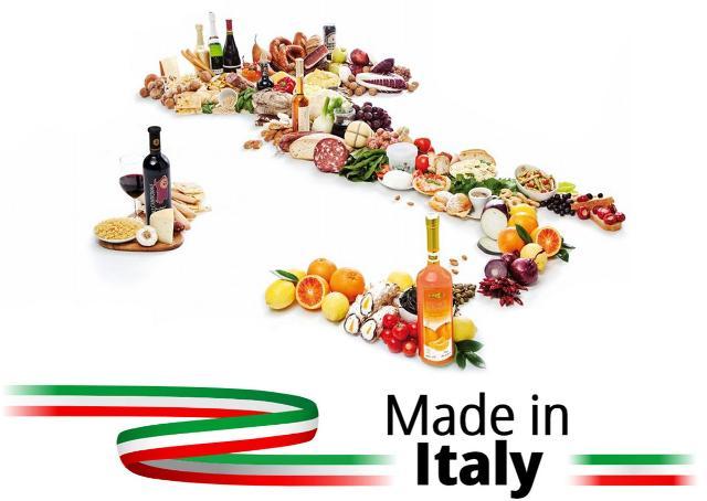 L'elemento più utilizzato per connotare un prodotto come italiano resta la bandiera tricolore