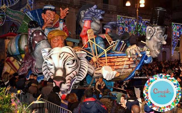 Carro allegorico del Carnevale di Avola