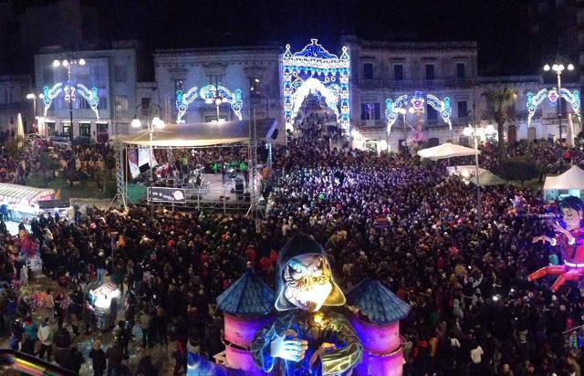 Carnevale di Avola, festa in piazza