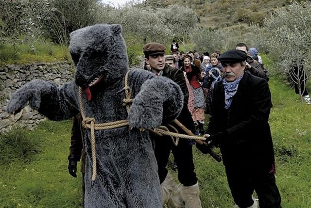 Carnevale di Saponara - La cattura dell'Orso