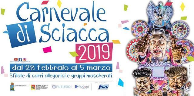 Alla Futuris srls l'organizzazione del Carnevale di Sciacca 2019