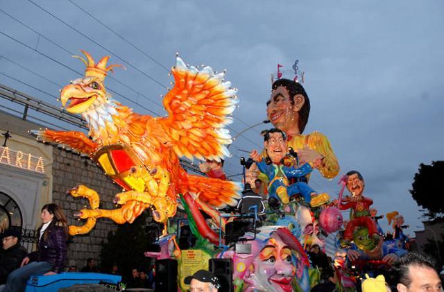 Carro allegorico del carnevale di Termini Imerese