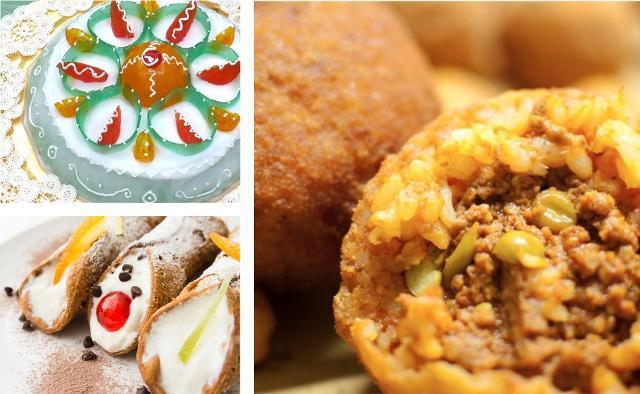 Tra i cibi siciliani più conosciuti vi sono senza dubbio la cassata siciliana, i cannoli di ricotta e gli arancini di riso...