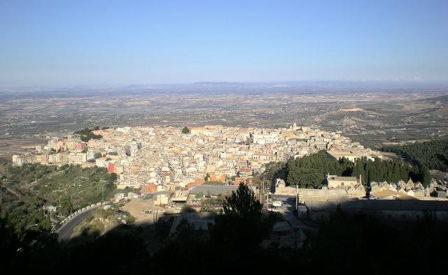 Panorama di Chiaramonte Gulfi - ph Sal73x