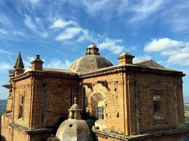 Retro della Chiesa Madre di Sambuca di Sicilia