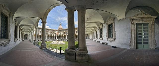 Chiostro di ponente del Monastero di San Benedetto, Catania