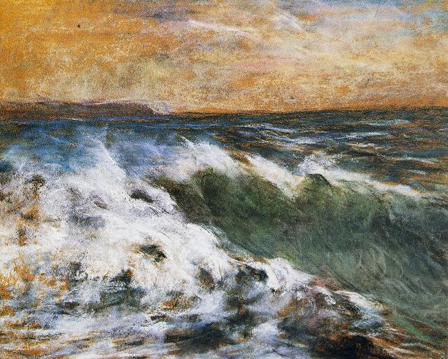 """L'onda"" Claude Monet"