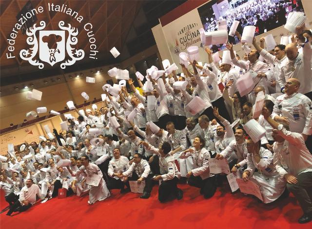 """Il 30° congresso della """"Fic - Federazione italiana cuochi"""" al Cooking Fest"""