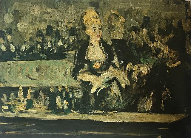 """Edouard Manet """"Bar aux Folies Bergère"""""""