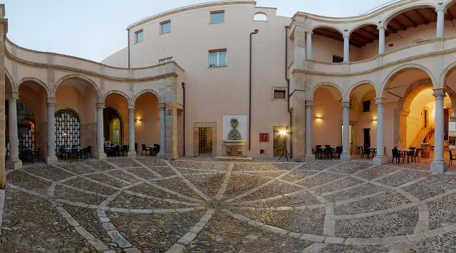 Palazzo Fici, sede dell'Enoteca della Strada del Vino di Marsala