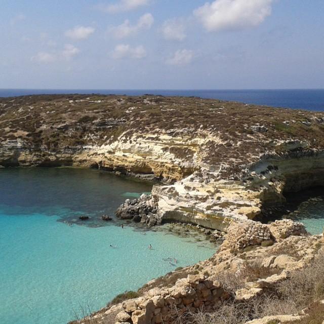 La spettacolare Isola dei Conigli a Lampedusa