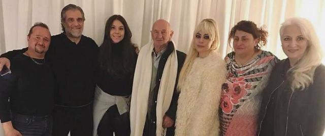 Lady Gaga e i parenti siciliani