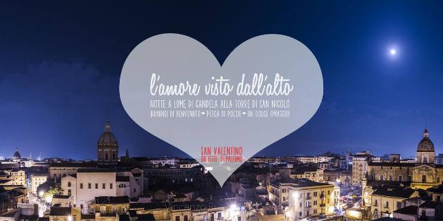 Le Candele Palermo.Notte Di San Valentino A Lume Di Candela Sui Tetti Di