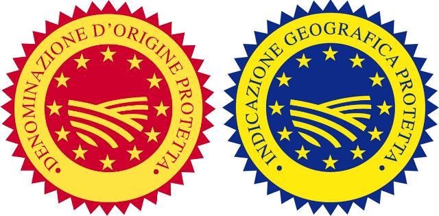 Positivi anche gli indici di crescita dei prodotti alimentari Dop e Igp e dei vini Doc e Docg