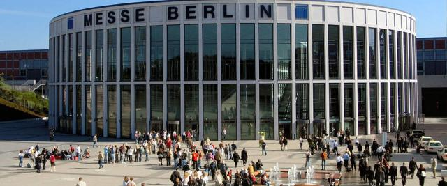 Il Berlin Expocenter city nel quartiere fieristico Messe Berlin