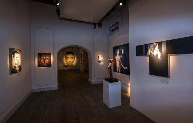 Alcuni ambienti del MacS - Museo di Arte Contemporanea Sicilia