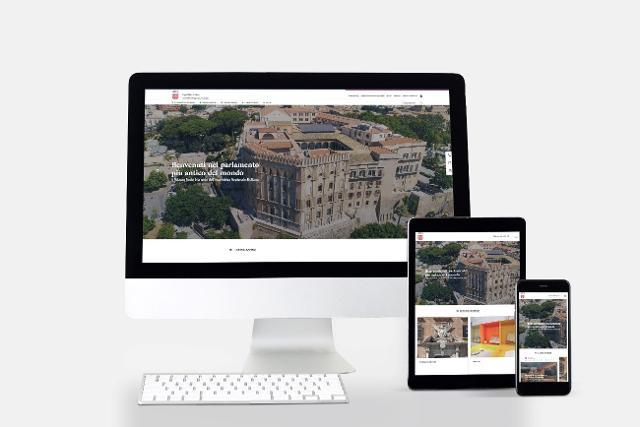 Il nuovo sito dell'Assemblea Regionale Siciliana