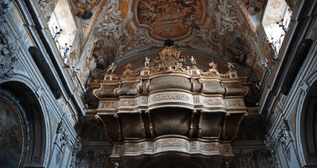 Organo della Chiesa di San Benedetto a Catania - ph Alfio Bonina
