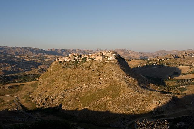 Panoramica su Sant'Angelo Muxaro - ph Carlo Columba