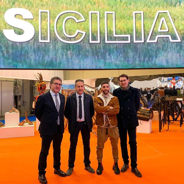 Nella foto da sx: Leo Agnello, Pietro Macaluso, Ivan D'Ignoti e Rosario Lodico