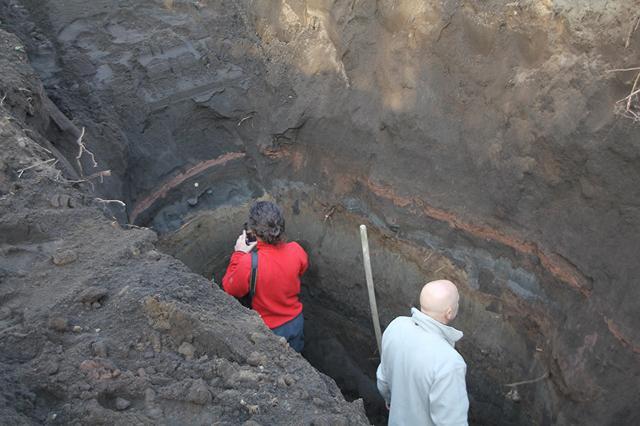 I geologi a lavoro a Stromboli - DIDA FOTO