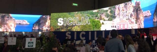Lo stand della Regione Siciliana alla BIT di Milano