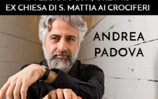 Andrea Padova al piano in 'Passione e Impeto'