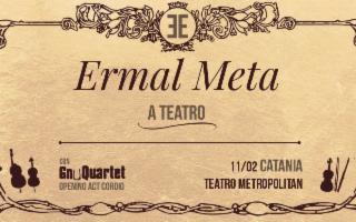 Ermal Meta e lo GnuQuartet al teatro Metropolitan di Catania
