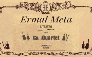 Ermal Meta e lo GnuQuartet al teatro Al Massimo di Palermo