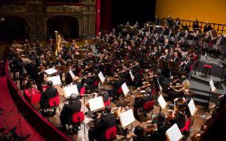 Orchestra del Teatro Massimo Bellini di Catania diretta da Günter Neuhold