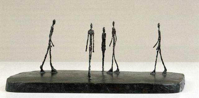 La piazza - Alberto Giacometti