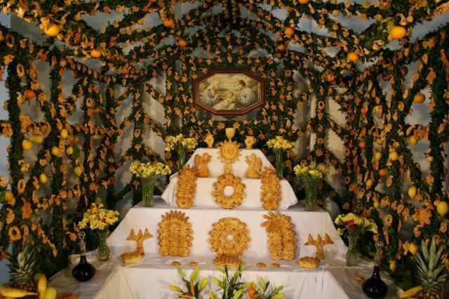 Altare devozionale di San Giuseppe, Salemi
