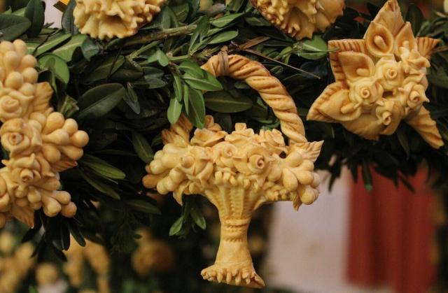 Particolare di un Altare devozionale per San Giuseppe - Salemi