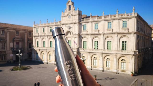 La borraccia dell'Università di Catania