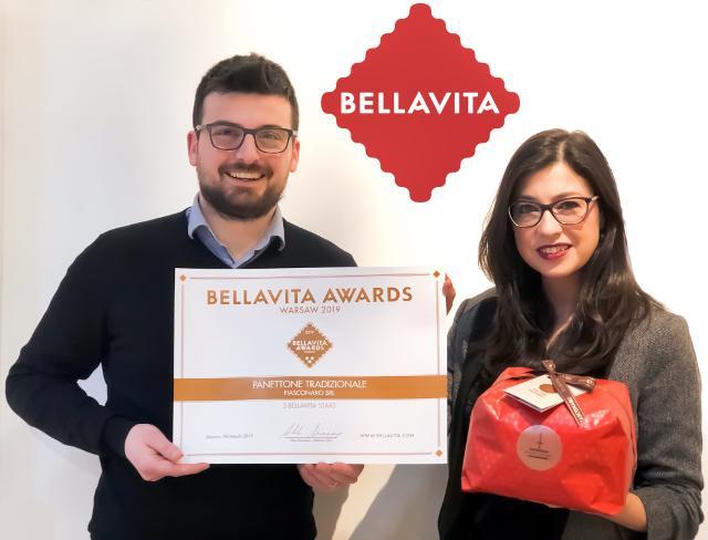 La consegna del Bellavita Award all'azienda Fiasconaro