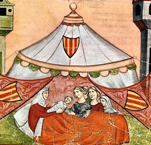La nascita di Federico II