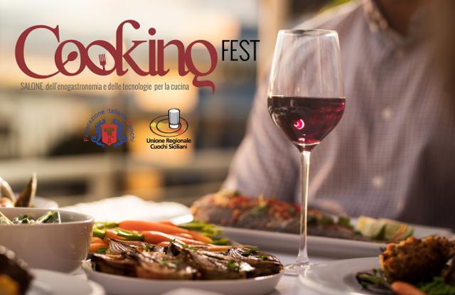 Cooking Fest, il primo salone di riferimento del Sud Italia, dell'enogastronomia e delle tecnologie per la Cucina