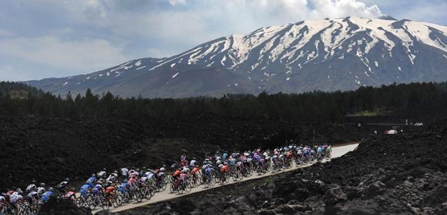 Tappa etnea del Giro d'Italia del 2018