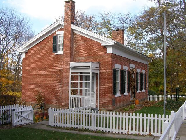 La casa di Edisona a Milan, nell'Ohio