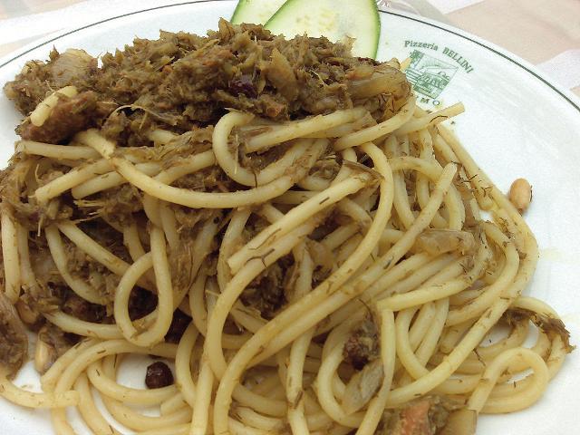 Pasta con le sarde alla palermitana - ph Adriao