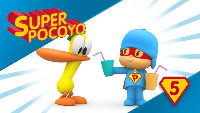 "Il ""supereroe"" Pocoyo educa all'importanza dell'idratazione"