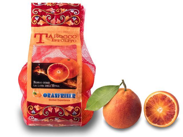 Rete arance rosse Tarocco Ippolito Oranfrizer
